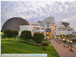 Rock and Roll Hall of Fame - Visit during your corporate housing Stay in Ohio